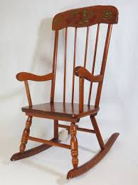 wooden rocking chair. Beautiful Wood Rocking Chair Foral Of Cheap Wooden Chairs