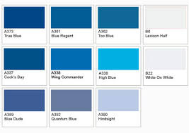 modern blue room paint colors
