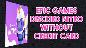 Free Nitro On Epic Games? Claim it without Payment Option. - YouTube