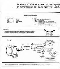 tachometer wiring diagram images diagram design ideas