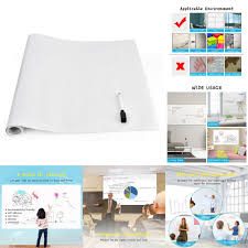 dry erase whiteboard stick decal wall self adhesive white board l roll sheets