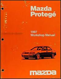 1997 mazda protege wiring diagram manual original 1997 mazda protege repair shop manual original
