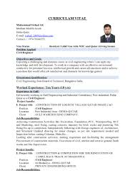 Civil Engineering Resume Formats Where To Find Good Engineering