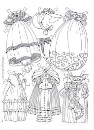 Small Picture 322 best Black White Paper Dolls Coloring Pages International
