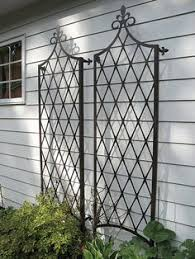 Small Picture The Scroll Wall Trellis is an artful display and the perfect