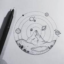 тату и эскизы Tatuagem Astronauta идеи