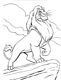free printable coloring pages lion king 2 the