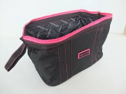 mac makeup bag uk beauty in black pink