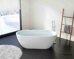 freestanding oval soaking tub resin bathtubs 60 freestanding acrylic bathtub