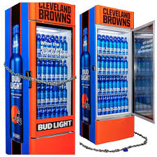 Bud Light Vending Machine Extraordinary Browns Fans Free Beer Coming The Moment The Team Wins Cleveland