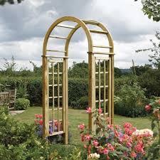 round top garden arch