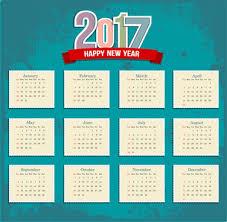 Calender Design Template 2017 Calendar Design Template Free Vector Download 16 442 Free