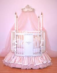 Circular Crib Bedding Alexa Round Crib Linens By Little Bunny Blue Rosenberryroomscom