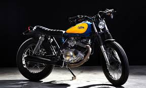 cafe racer dreams sr250 the bike shed