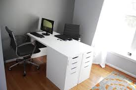 home and furniture artistic desk for two people on person office best computer desks office desk at ikea1 office