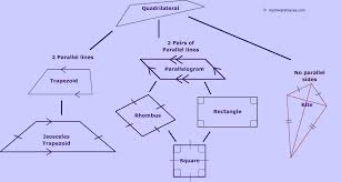 Quadrilateral Family Tree. Explore rules of quadrilaterals, their ...