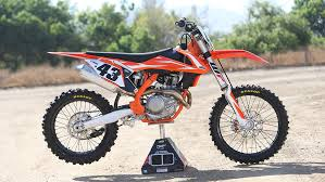 2018 ktm motocross bikes.  bikes aesthetically the biggest thing that sets 2018 model apart from its  predecessor is orange frame orange better than gray the bike carries a  in ktm motocross bikes