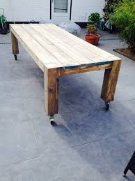 furniture with wheels. outdoor dining table wheels furniture with