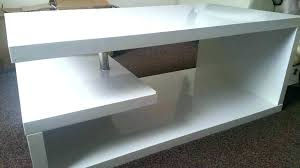 full size of accent high gloss coffee table white tiffany black rectangular with led lighting ikea