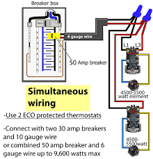 how to wire water heater thermostat Robert Shaw Thermostat Wiring Diagram simultaneous water heater wiring both thermostats operate independently robert shaw thermostat wiring diagram