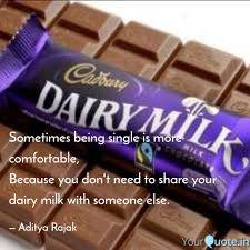 Best Dairymilk Quotes Status Shayari Poetry Thoughts Yourquote