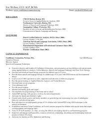 Behavior Therapist Resume Image Collections - Resume Format Examples ...