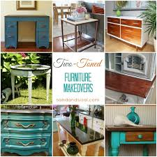 furniture makeovers. Two Toned Furniture Makeovers V