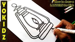 How To Draw A Lantern For Kids
