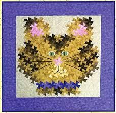 Here Kitty Kitty Twister | li'l Twister ideas | Pinterest ... & Here Kitty Kitty Twister Quilt Pattern by Raggedy Ruth Designs at Creative  Quilt Kits Adamdwight.com