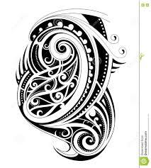 маорийская татуировка стиля иллюстрация вектора иллюстрации