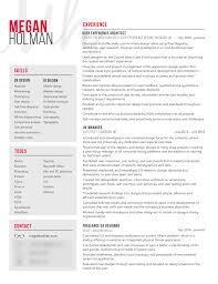 resume ux designer resume megan holman ux ui designer