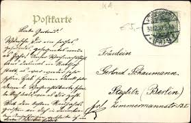 Embossed Postcard Psalm Verlass Dich Auf Den Herrn Von Akpoolcouk
