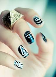 20 Simple nail art designs ideas for short nails
