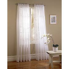 Sheer Curtains Bedroom Sheer White Curtain Panels Free Image