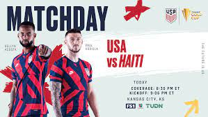 2021 Concacaf Gold Cup: USA vs. Haiti ...