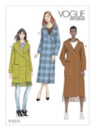 Vogue Coat Patterns Awesome Ideas