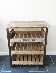 industrial wood furniture. Reclaimed Industrial Wooden Shelving Unit Wood Furniture
