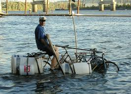 There Is A Modern Day Amphibious Bike Grist