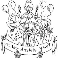 Sister Location Coloring Pages Coloring Pages For Kids Garymcpeekclub