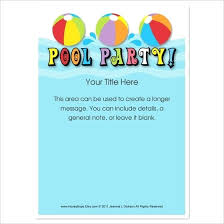 birthday invitations samples printable swimming party invitations party invitations breathtaking