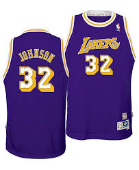 Big Magic Angeles Retired Johnson Swingman Lakers Boys Jersey Player Los