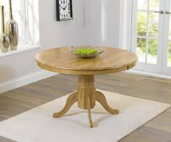 mark harris elstree oak round dining table with 4 chairs