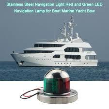 Antique Boat Navigation Lights 2019 Marine Bow Light 12v Stainless Steel Navigation Light Red And Green Led Navigation Side Lights Boat Yacht Car Accessories From Bestliner 18 46