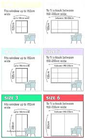shower curtain measurements standard size length width for