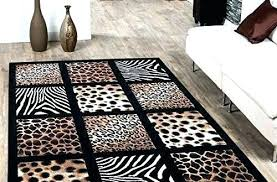 animal area rug print rugs enjoyable inspiration designing home black leopard canada enj