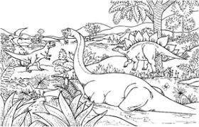 Dinosaurus Kleurplaten Animaatjesnl