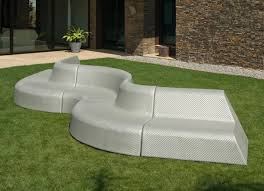 unusual outdoor furniture. Boa Curved Garden Sofa - DISCONTINUED Unusual Outdoor Furniture I