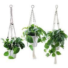 yotako rope hanging planter 3