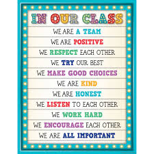 Marquee In Our Class Chart