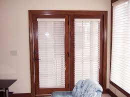 exterior door with blinds between glass double incredible
